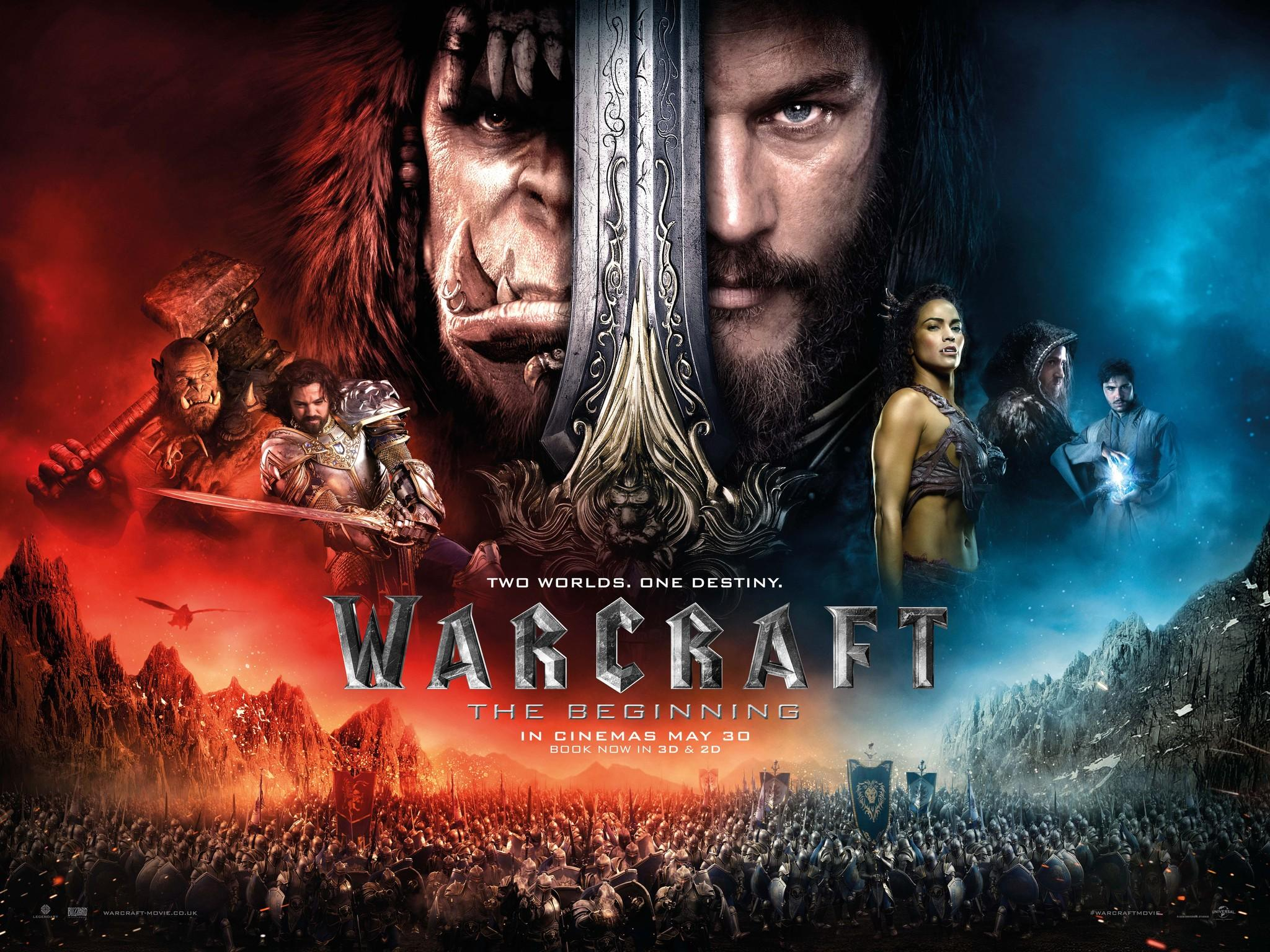 warcraft movie poster palace cinema felixstowe