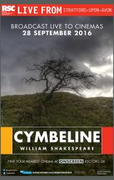 Cymbeline - Royal Shakespeare Company