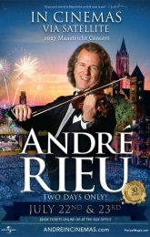 ANDRE RIEU'S 2017 MAASTRICHT CONCERT - Live recording from Maastricht